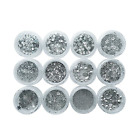 Allwon Body Glitter Cosmetic Makeup Eyeshaodw Glitters for Face Body Hair Nail