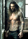 Jason Momoa AquaMan Poster DC New 2018 Movie Justice, FREE P+P, CHOOSE YOUR SIZE