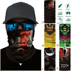 Skiing Motorcycle Neck Tube Warmer Windproof Cycling Bike Scarf Face Mask Hat MN
