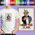 Gravity Falls Grunkle Stan Uncle Sam Mystery Shack Unisex Kids Tee Youth T-Shirt