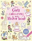 Girls' Colouring and Sticker Book by Greenwell, Jessica
