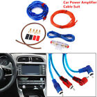 1500w Car Amplifier Wiring Kit Durable Audio Subwoofer AMP Cable FUSE HY Safety