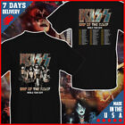KISS Rock Band End of The Road Tour 2019 T shirt Black Cotton T-Shirt image