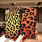 Leopard Print Ultra Thin Cover Soft Silicone Rubber Case For iPhone XS Mas XR 8P