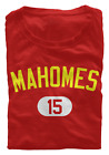 Patrick Mahomes T-Shirt Kansas City Chiefs NFL Regular/Soft Jersey #15 (S-3XL) $15.95 USD on eBay