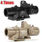 Внешний вид - 4X Tactical Magnifier Scope Red Dot Sight Primary Hunting For Gel Ball Crossbow