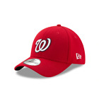 "New Era 39Thirty Washington Nationals GAME ""Team Classic"" Hat (Red) MLB Cap"