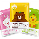 korean carton Face Mask Facial Sheet Deep Moisture lady face mask