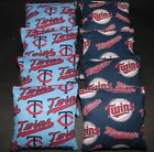 Minnesota Twins NOSTALGIC CORNHOLE BEANBAGS Game MLB 8 Quality Handmade Bags! on Ebay