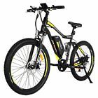 "Addmotor HITHOT H1 Electric Bicycle Mountain eBike 500W 27.5"" Suspension Bike"