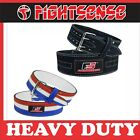 Внешний вид - FS Weight Lifting Prong Buckle Belt Gym Fitness Back Support Powerlifting New