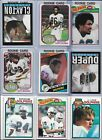 Miami Dolphins Vintage Rookie Lot of (13) Different Moore Clayton Duper BV$42.00