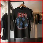 Kiss T-Shirt Creatures Of The Night Tour Vinnie Vincent TShirt Men Black Cotton  image