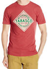 Tabasco Label Adult Heather T-Shirt - Official the hot, legendary pepper sauce