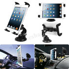 360° Car Windshield Desk Holder Suction Cup Mount Stand For iPad Tablet