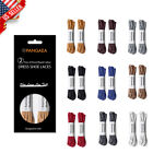 [2 Pairs] Waxed Shoelace For Dress Shoes Laces Thin Round Oxford Brown Black Red