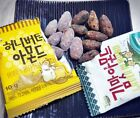 Korean Snack Food Almond-HONEY BUTTER CHIPS/SPICY CHICKEN NOODLE/SEAWEED Flavors