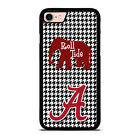 ALABAMA CRIMSON TIDE HOUNDSTOOTH iPhone 6/6S 7 8 Plus X/XS Max XR Case Cover