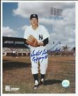 Bullet Bob Turley Cy Young 58 New York Yankees Signed Auto 8x10 Photo Autograph