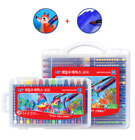 Mungyo Rail Water Crayon Kid Painting 12/24 Colors Holder Type Not On Their Hand