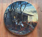 Terry Redlin MORNING RETREAT Collector Plate - Cabin Old Truck Geese #9268/9500