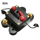 Black Fuse Holder Video Audio System Inline Manual Override Stereo Car Switch