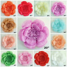 20 in Paper Large Peonies Flower Wall Backdrop Photobooth Wedding Decorations