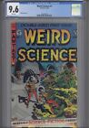 Weird Science #1 CGC 9.6 1990 Gladstone Comics Wally World Cover: New Frame