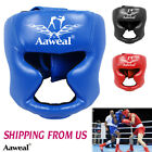 Boxing Headgear head Guard MMA Kickboxing Training Face Protective Gear Helmet