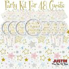 Baby Shower Party Supplies GENDER REVEAL Boys Girl Unisex Tableware & Party Kits