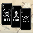 Ronin Division 浪人 Phone Case Cover For iPhone -  Hypebeast Aesthetics 2019
