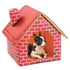 Indoor Kennel Dog House Small Pet Cat Home Soft Warm Cozy Portable Puppy Bed US
