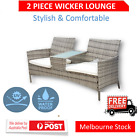 Table Sofa Set Outdoor Wicker Rattan Furniture For Garden And Out Door