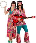 Couples Ladies AND Mens Festival Hippie Carnival Fancy Dress Costumes Outfits