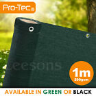 1m wide 200gsm privacy netting garden screening windbreak fencing 95% shade net