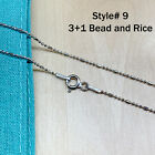 StoreInventoryreal silver unique jewelry solid 925 sterling silver chain necklace made italy
