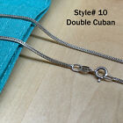 Real SILVER Unique Jewelry SOLID 925 Sterling Silver Chain Necklace Made Italy <br/> Brand Name✔ Genuine Silver Jewelry✔ Stamped 925 Italy✔