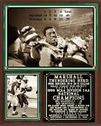 1996 Marshall Thundering Herd National Champions Photo Plaque