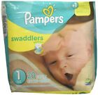 Pamper Swaddler Blankie Soft Baby Toddler Disposable Stretchy Size 1 20 Diapers