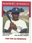 1989 Best Baseball America AA Prospect Minor League card - Pick your player