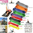 Power Pull Up Resistance Band Gym Body Stretching Loop Exercise Fitness Yoga image