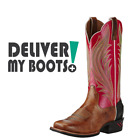 Women's Ariat Catalyst Prime 10018488 - Pink Cowgirl Western Boot