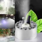 Practical 12-LEDs Lights Mist Maker Fogger Air Humidifier Water Fountain Machine