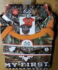 NWT Realtree 2 pc Camo Hunting Buddy Bodysuit Set Infant 12 mo OR 18 mo OR 24 mo