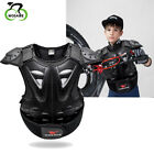 Child Body Chest Protective Gear Kid Dirt Bike Spine Guard Motorcycle Armor Vest