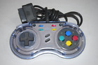 SN ProPad Autofire Controller by QJ for Super Nintendo Console Video Game System