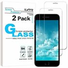 iPhone7 6 8 Premium Real Screen Protector Tempered Glass Protective Film 2 Pack