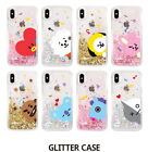 BTS BT21 GLITTER Phone Case Cover Official Authentic Goods  For Iphone Galaxy