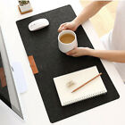 Room PC Keyboard Non-Slip Table Mat Wool Felt Laptop Desk Cushion Mouse Pad