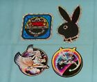 vintage 1980's PRISM & SPARKLE STICKERS lot x4 Tinkerbell unicorn bunny